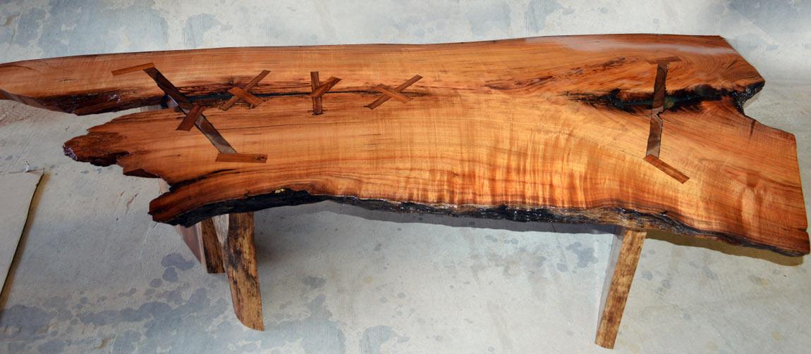 Solid Koa Table